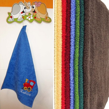 Dětský ručník s výšivkou